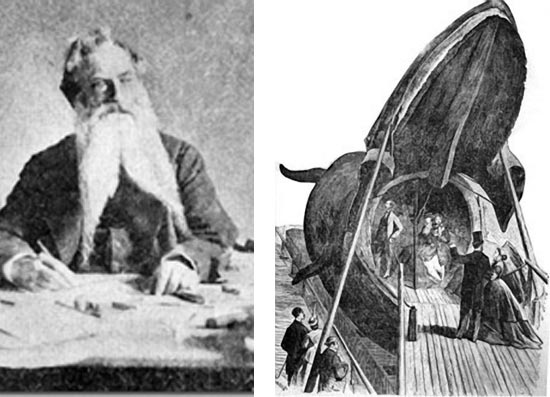 Left: August Wilhelm Malm, Right: Carolina